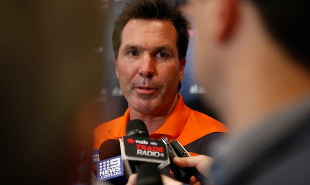GWS coach slams reports of rift between footy boss and