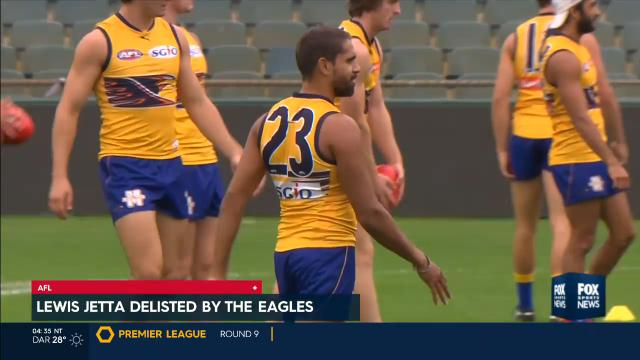 Lewis Jetta delisted